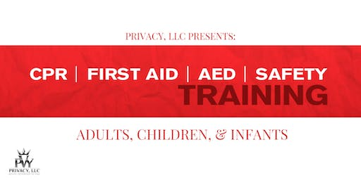 First Aid/CPR/AED Certified Training