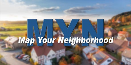 "Neighborhood Council ""Map Your Neighborhood"" Training tickets"