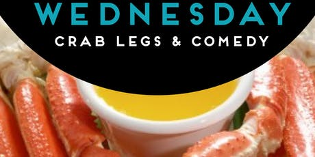 CRAB LEGS & COMEDY: KRACKEN' EM UP WEDNESDAYS tickets