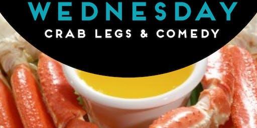 CRAB LEGS & COMEDY: KRACKEN' EM UP WEDNESDAYS