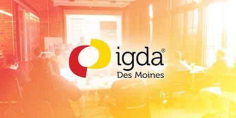 IGDA September Meeting: Game Jam Panel tickets