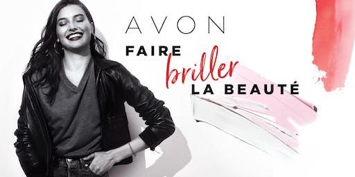 Événements « Faire briller la beauté » AVON – Montréal