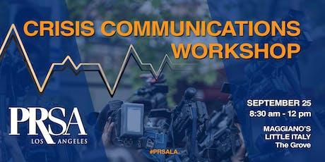 Crisis Communications Workshop tickets