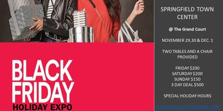 Black Friday Holiday Expo tickets