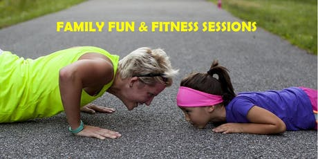 Free Taster Family Fun & Fitness session tickets