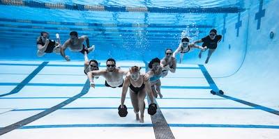 Lululemon X Deep End Fitness Swim Huddle