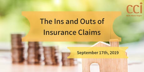 The Ins and Outs of Insurance Claims (CCI Seminar) tickets