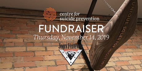 Centre for Suicide Prevention Fundraiser at Fluevog Shoes in Calgary tickets