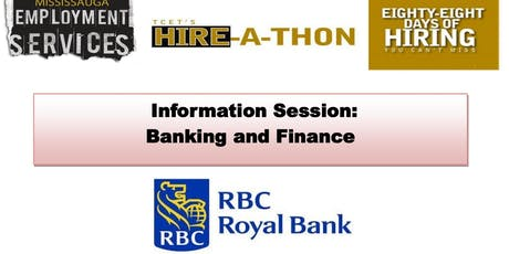 Information Session: Career in Banking tickets