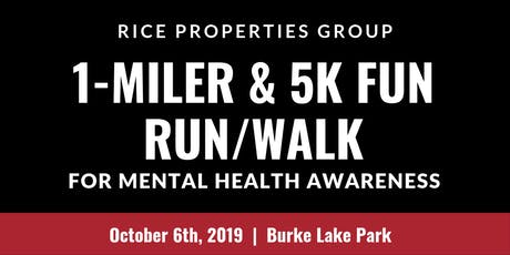 RPG 1st Annual 5K & 1-Mile Fun Run/Walk for Mental Health Awareness tickets