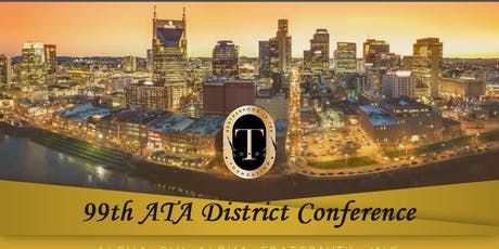 ATA 99th Anniversary District Conference - Alpha Phi Alpha Fraternity, Inc. tickets