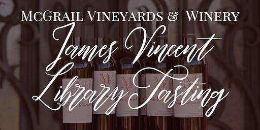 McGrail Vineyards James Vincent Cabernet Library Tasting