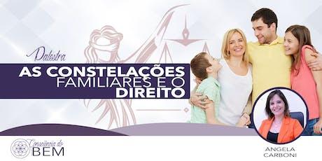 [Barretos/SP] As Constelações Familiares e o Direito ingressos