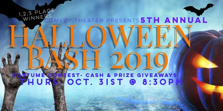5TH ANNUAL HALLOWEEN BASH Costume Contest tickets