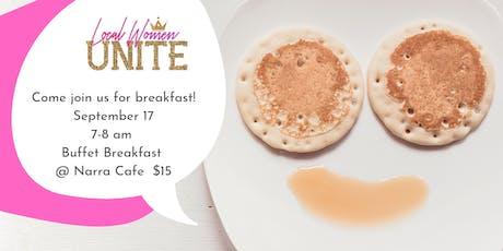 Local Women Unite - Breakfast tickets