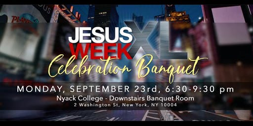Jesus Week XL - Celebration Event
