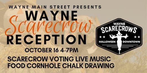 2019 Downtown Scarecrow Show Reception