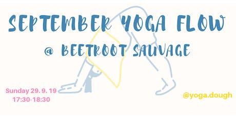 September Yoga Flow tickets