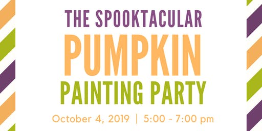 Edward Hill Bakery's Pumpkin Painting Party