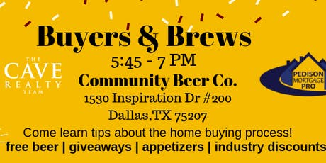 Buyers and Brews - A Home Buying Seminar tickets