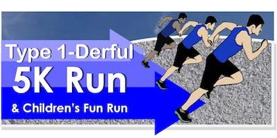 Type 1-Derful 5K & Children's Fun Run