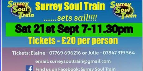 Surrey Soul Train sets sail!!! tickets