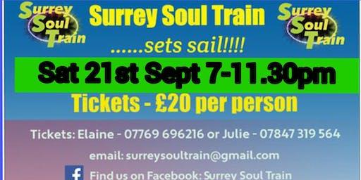 Surrey Soul Train sets sail!!!