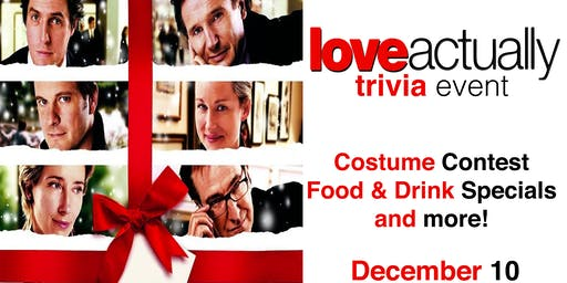 Love Actually Trivia Event!