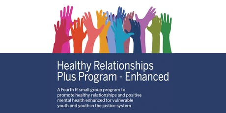Healthy Relationships Plus Program-EnhancedTraining tickets