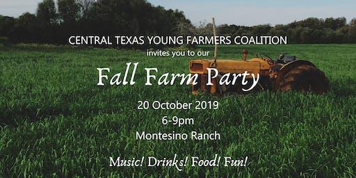 2019 Fall Farm Party