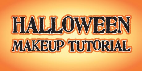 Halloween Make-up Tutorial tickets