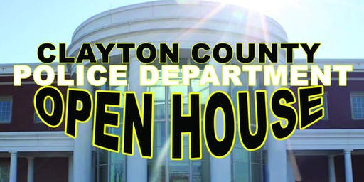 Clayton County Police Department's Open House