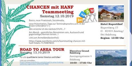 """Teammeeting """"Chancen mit Hanf"""" Tickets"""