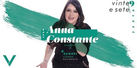 VIV Mizik - Show Anna Constante ingressos