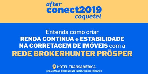 AFTER Conect 2019 - Coquetel