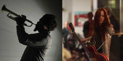 Concrete Sounds: Forbes Graham + Kate Village (solos) at Boston City Hall