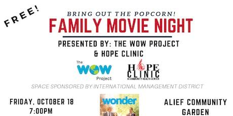 Free Alief Family Movie Night  tickets