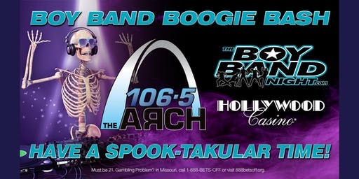106.5 The Arch Presents The Boy Band Boogie Bash at Hollywood Casino