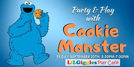 Party & Play with Cookie Monster tickets