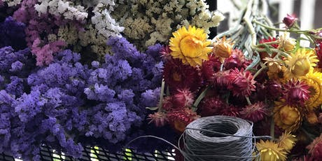 Dried Flower Arrangement Workshop tickets