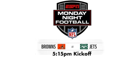 Monday Night Football: CLE @ NYJ - 5:15pm tickets