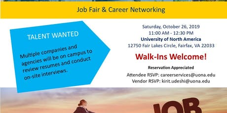 Job Fair and Career Networking tickets