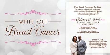 White Out Breast Cancer tickets