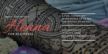 Henna for Beginners tickets