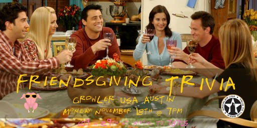 Friendsgiving Trivia at Growler USA Austin