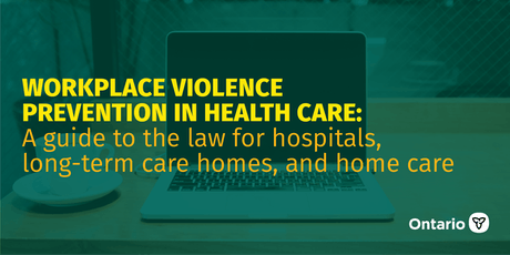 Workplace Violence Prevention in Health Care: A guide to the Law tickets
