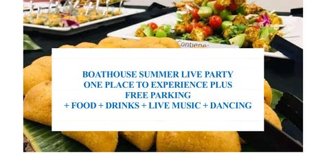 SOCIAL EVENT - BOATHOUSE SUMMER LIVE PARTY - OTTAWA-ONTARIO tickets