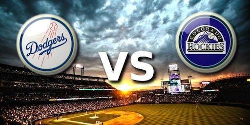 RMC 2019 Summer Event: Dodger vs Rockies