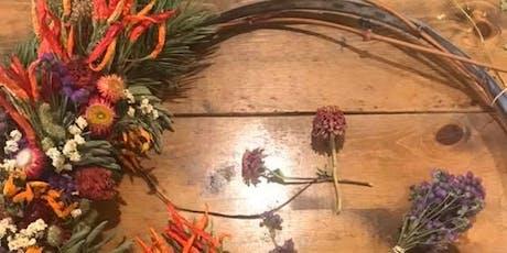 Copy of Dried Flower Wreath Making Workshop  tickets