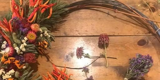 Copy of Dried Flower Wreath Making Workshop